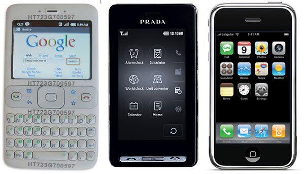 Prototyp Androida, LG Prada, iPhone | Unwired View