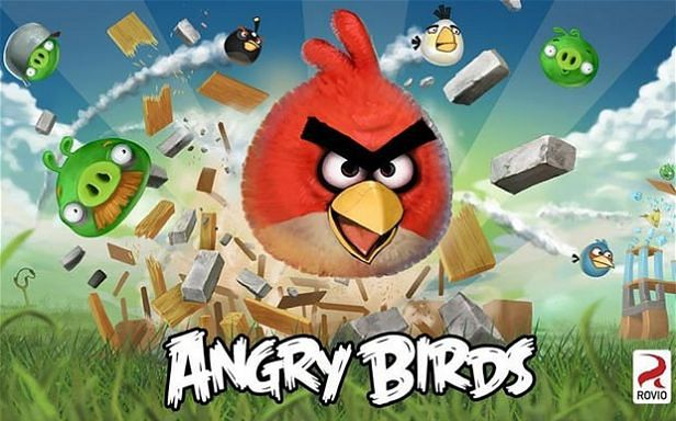 Angry Birds, fot. Telegraph.co.uk