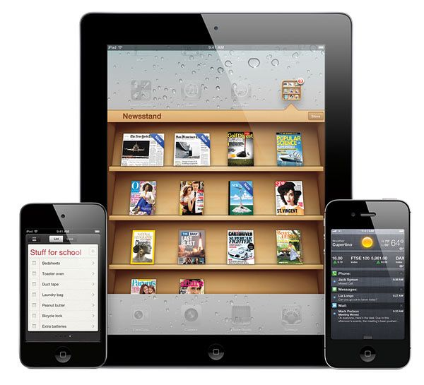 Urządzenia mobilne Apple