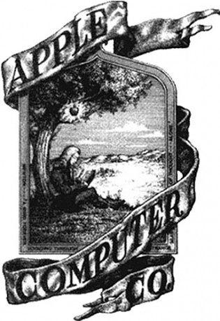 Pierwsze logo Apple