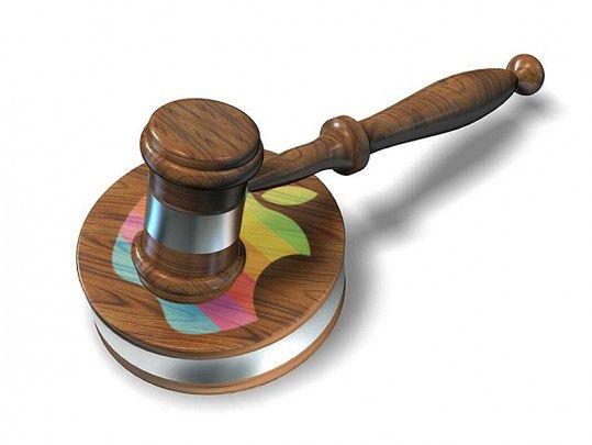 Apple w sądzie | fot. Slashgear.com