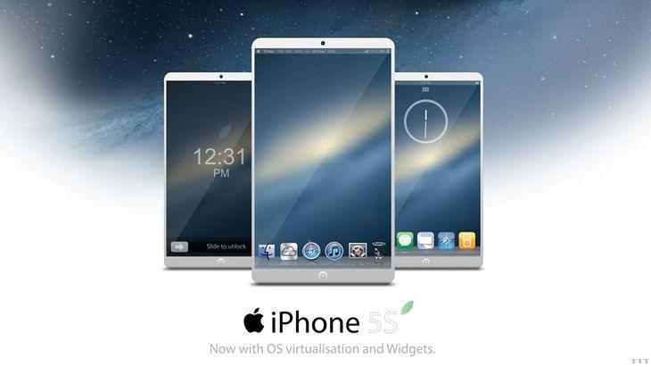 Koncept iPhone 5S (fot. concept-phones.com)