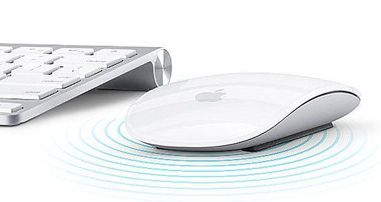 Magic Mouse podjada klawiatury Apple