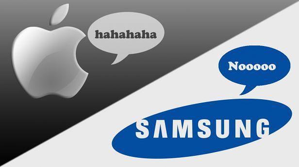 Apple vs Samsung (for. Mirolta.com)