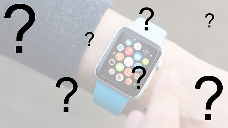 Zmodyfikowane zdjęcie Apple Watcha
