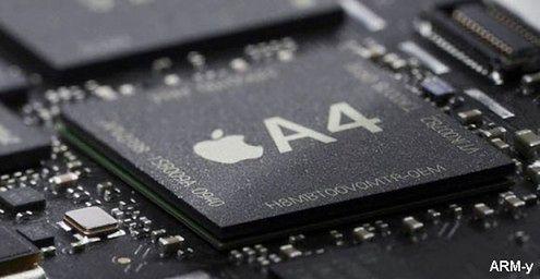Procesor Apple A4 to nie całkowicie autorski projekt