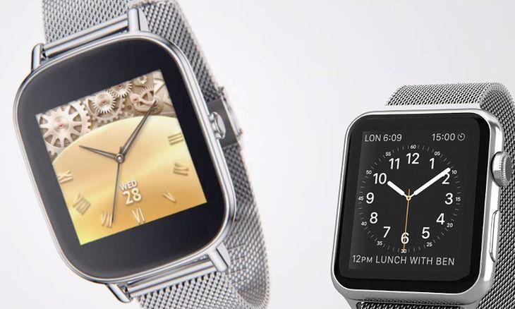 Asus ZenWatch 2 i Apple Watch