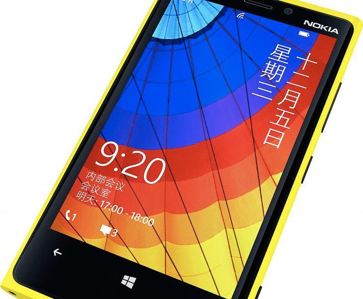 Chińska wersja Nokia Lumia 920