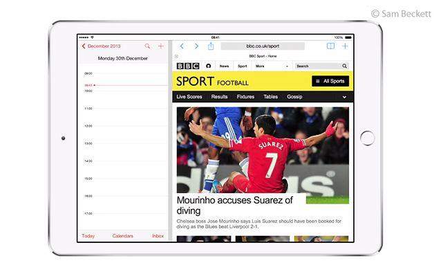 Multitasking w iOS 8 - koncept Sama Becketta