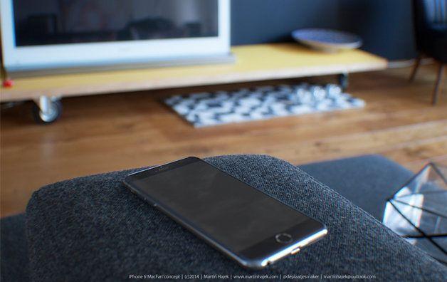 iPhone 6 - koncept Martina Hajeka