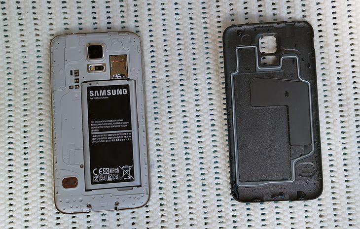 Samsung Galaxy S5 mini oryginalna bateria z ładowarką