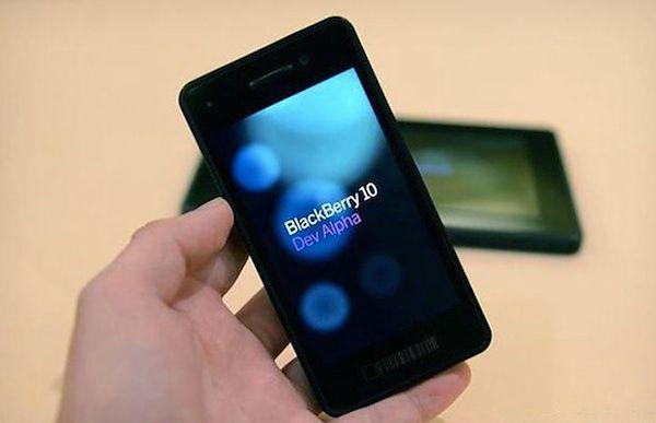 BlackBerry OS 10 DevAlpha