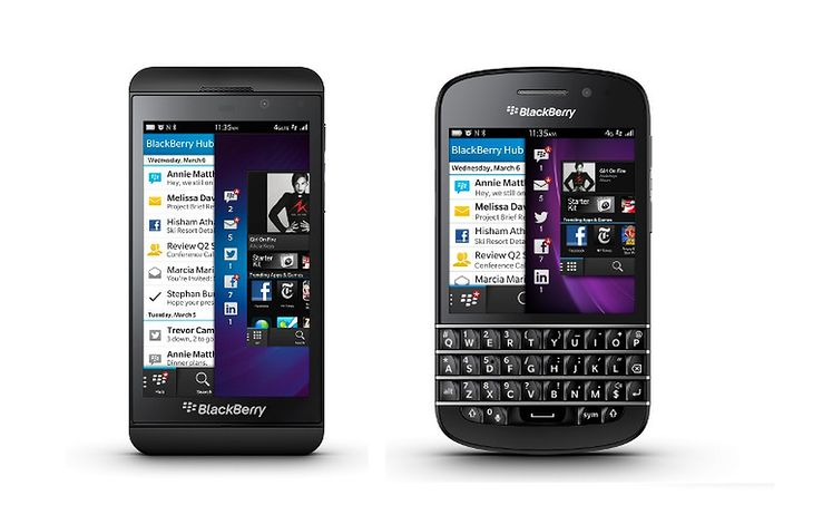 BlackBerry Z10 i Q10