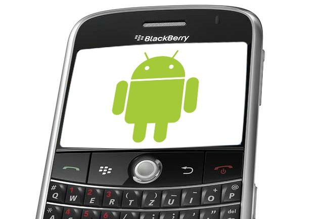 BlackBerry z aplikacjami Androida? (fot. CNET)