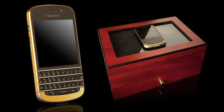 BlackBerry Q10 (fot. Goldgenie)
