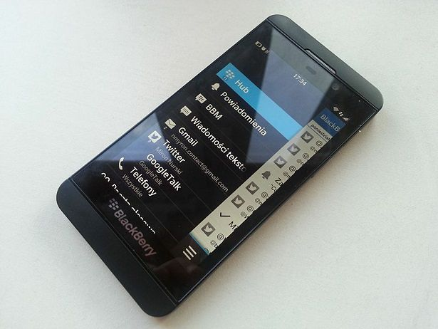 BlackBerry Z10 (fot. wł.)