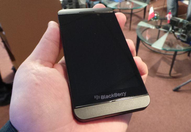 BlackBerry Z10 (fot. wł)