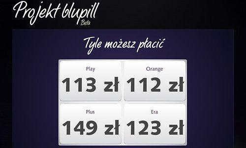 Blupill - Orange ich nie lubi, Play nie ma nic przeciw