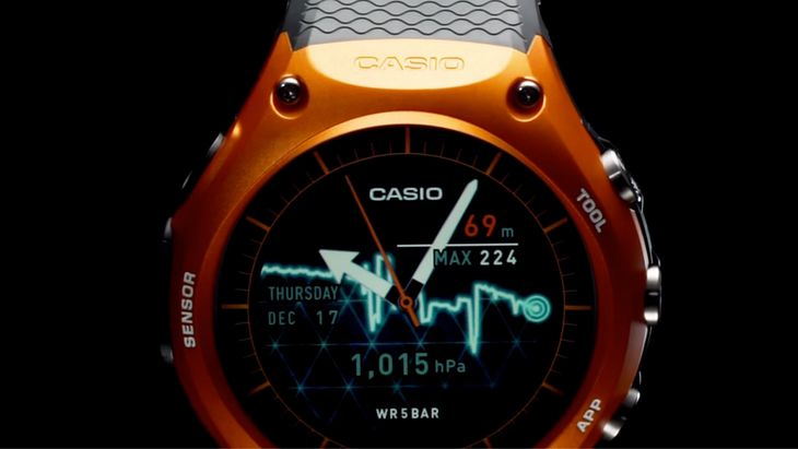 Casio Smart Outdoor Watch WSD-F10