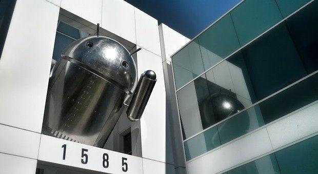 Chromowany Android | fot. engadget.com