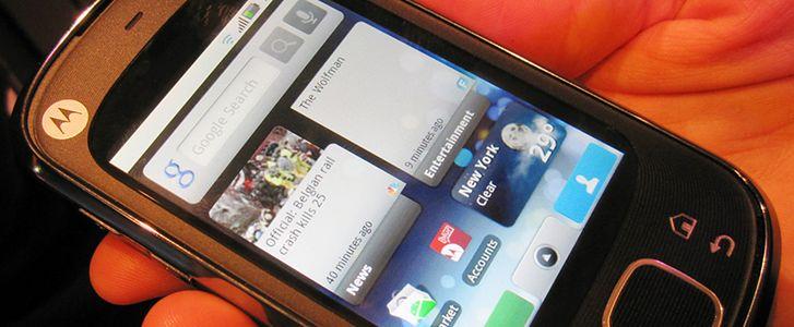 Motorola Cliq XT bohaterką procesu w USA (fot. AkibaraNews.com)