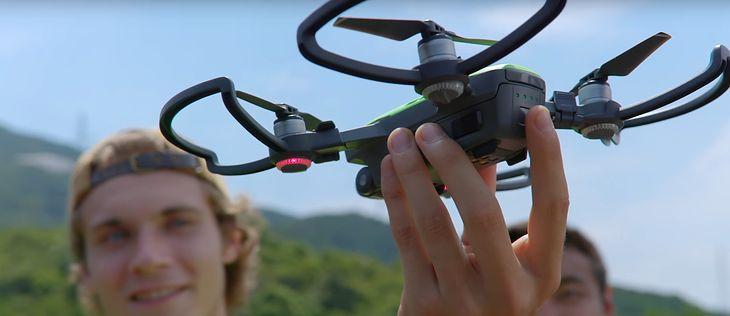 DJI Spark - miniaturowy dron. Snap stworzy dla niego konkurencję?