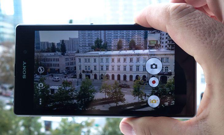 Sony Xperia Z1 (fot. Krzysztof Kurek)