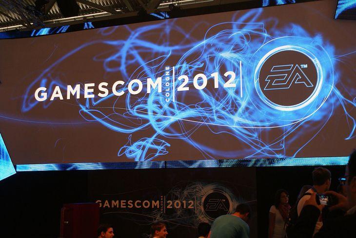 Sektor Electronic Arts, GamesCom 2012 (fot. Marta Kałuzińska)