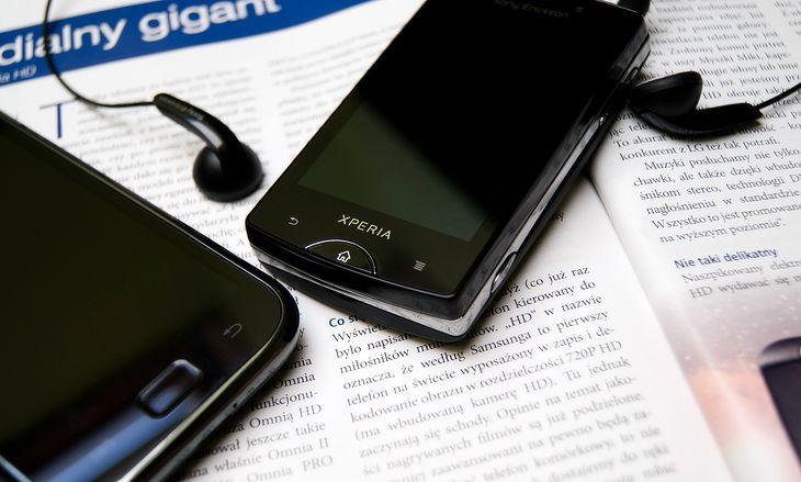 Sony Ericsson Xperia mini pro | Fot. własne