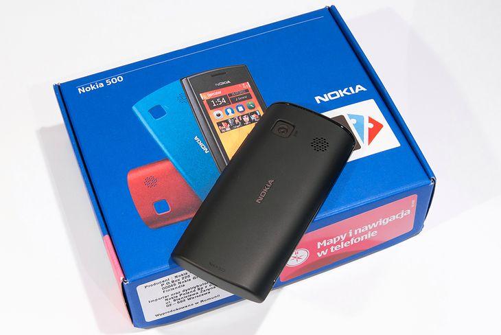 Nokia 500 | fot. własne