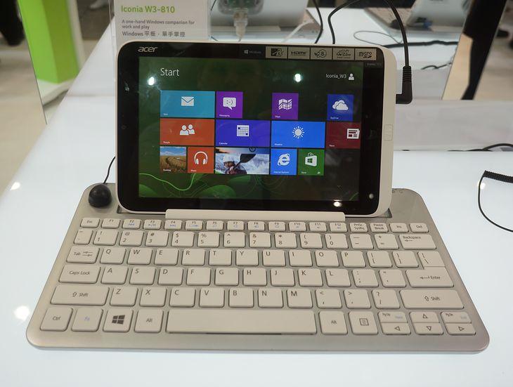 Acer Iconia W3 (fot. Krzysztof Kurek)
