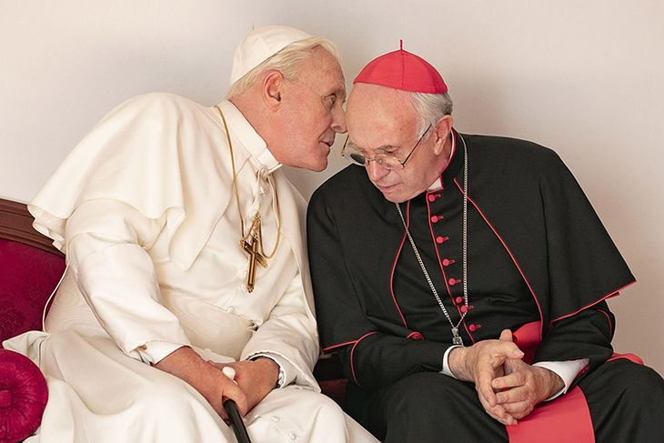 Dwóch papieży to film z trzema nominacjami do Oscara, który można obejrzeć za darmo