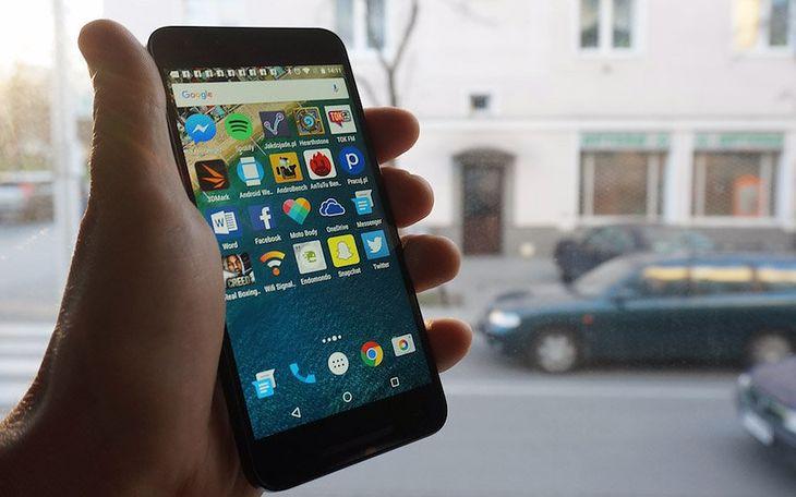 Google Now Launcher na Nexusie 5X
