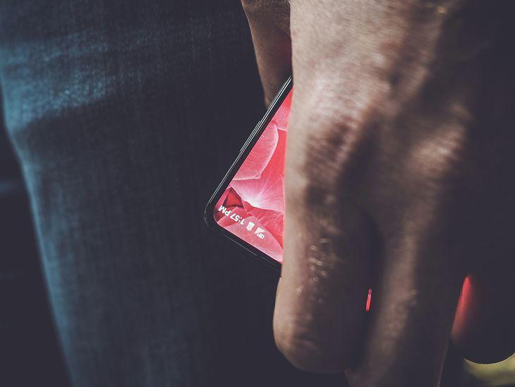 Bezramkowy telefon firmy Andy'ego Rubina