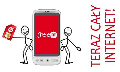 FreeM - darmowy cały Internet