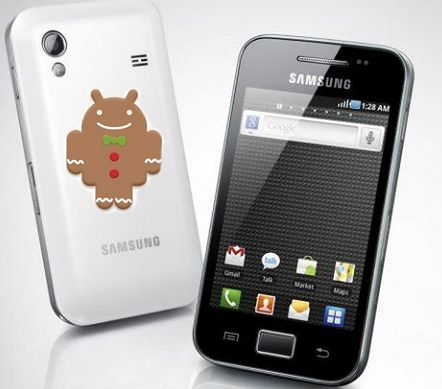 Galaxy Ace z Androidem 2.3