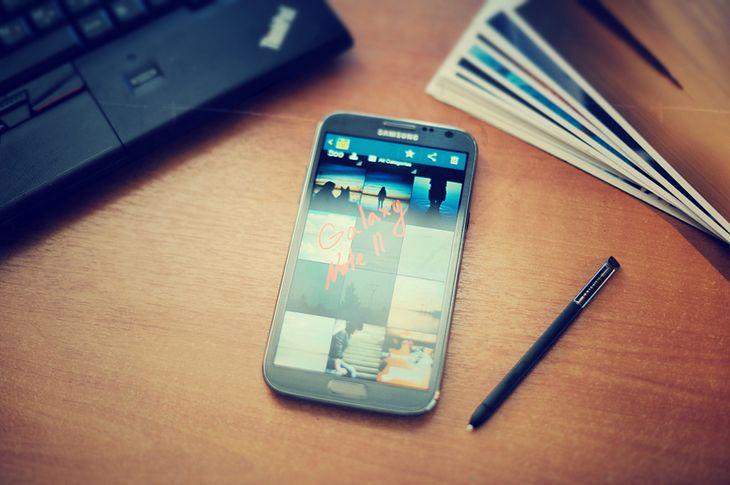 Galaxy Note II (fot. payalnic)