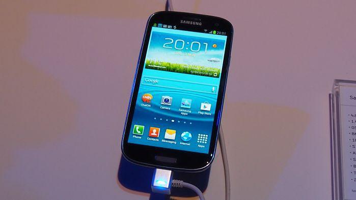 Galaxy S III (fot. własne)