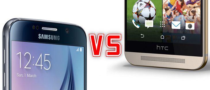 Galaxy S6 i One M9