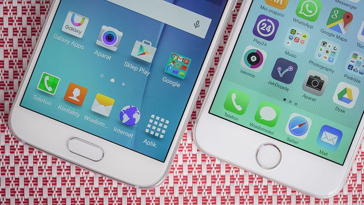 Galaxy S6 i iPhone 6