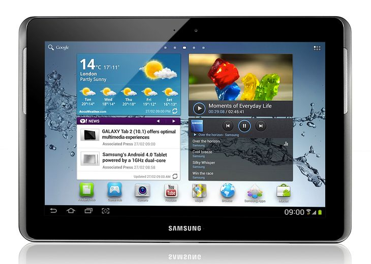 Galaxy Tab 2 10.1 (fot. Samsung)