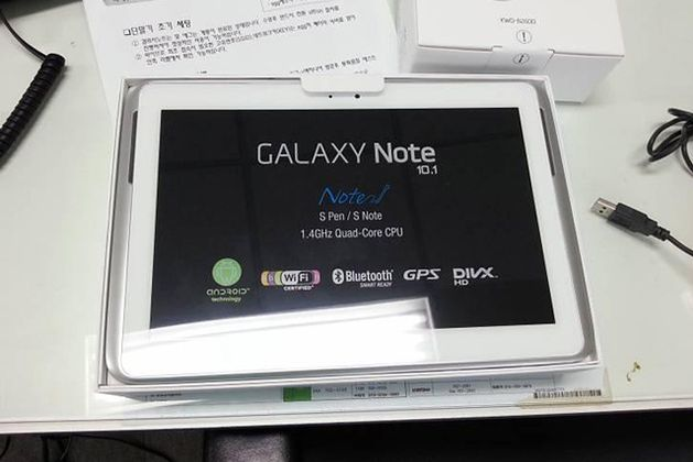 Galaxy Note 10.1   fot. theverge.com