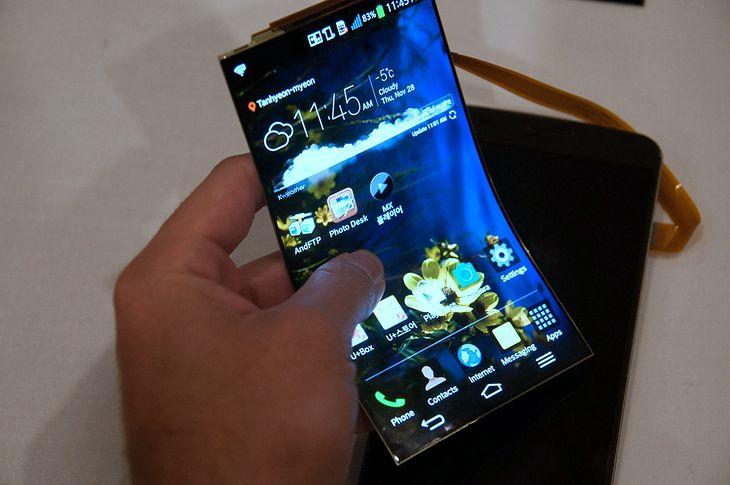 elastyczny ekran LG