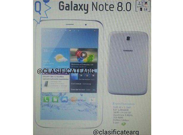 Galaxy Note 8.0 (fot. sammobile.com)