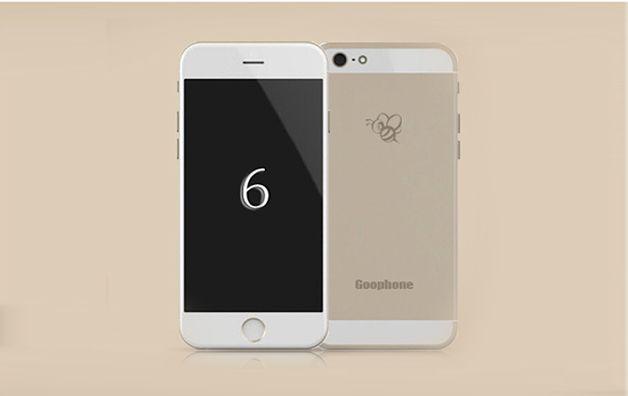 Ogromnie Goophone i6, czyli androidowa podróbka iPhone'a 6 oficjalnie XX55