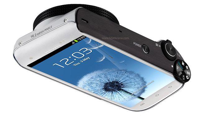 Koncept aparatu Samsung Galaxy Camera | fot. gsmarena.com