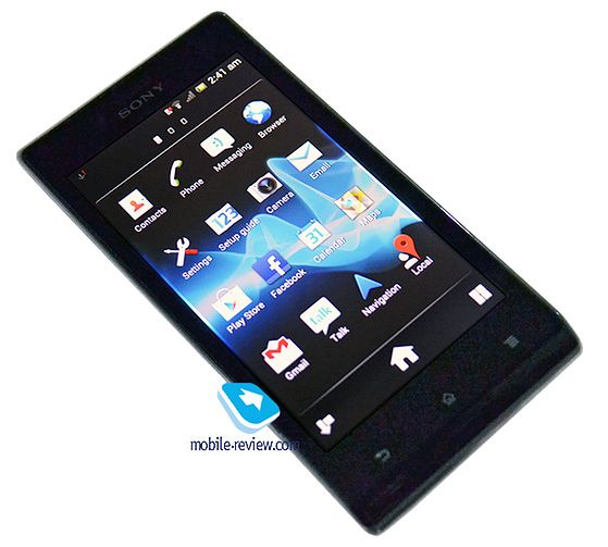 Sony Xperia J | fot. Mobile Review
