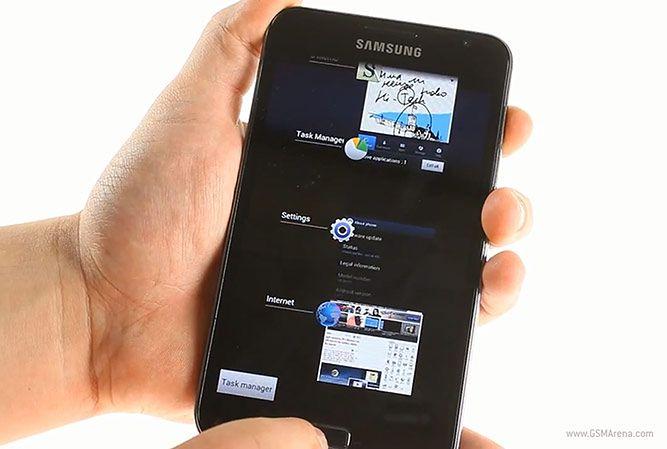 Galaxy Note z Ice Cream Sandwich   fot. gsmarena.com