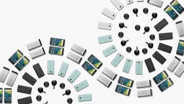 Nexus 5X, Nexus 6P i Chromecast