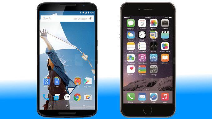 Google Nexus 6 i iPhone 6 plus